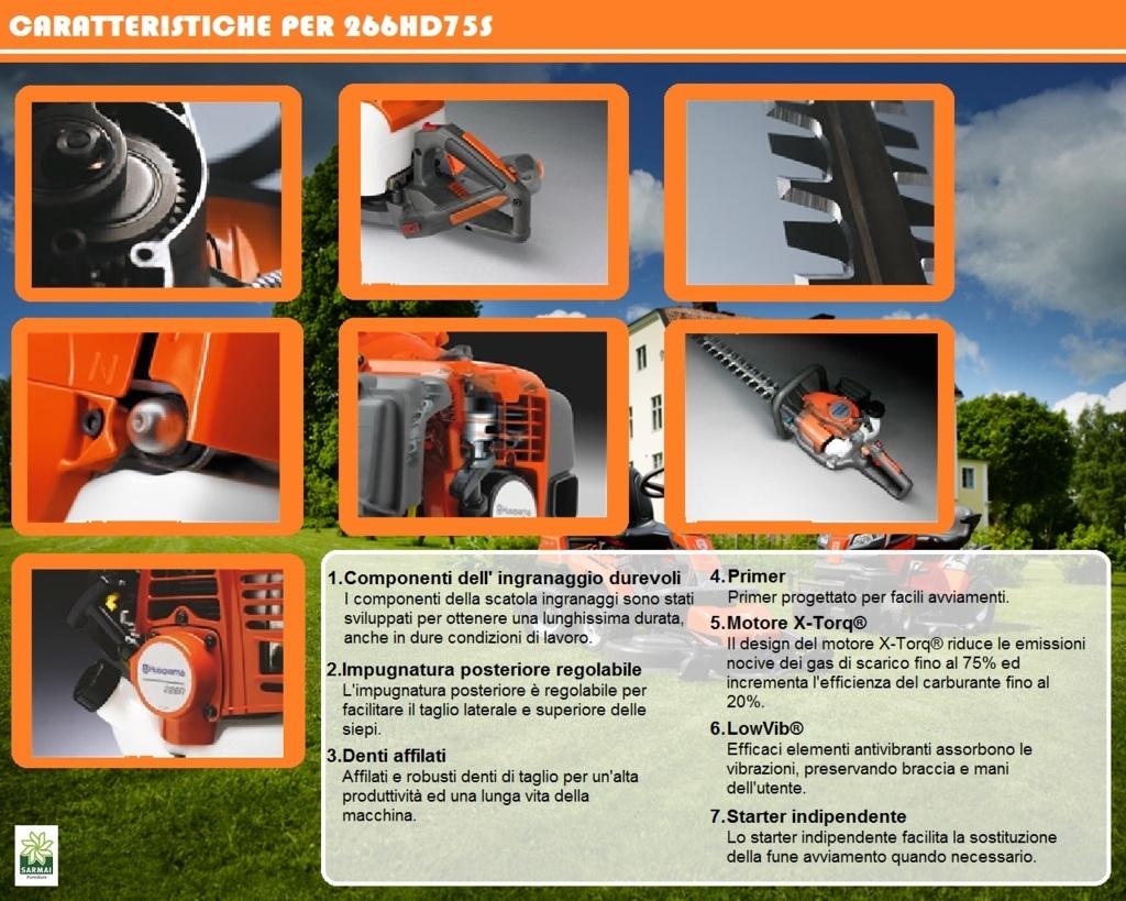 Husqvarna 226HD75S