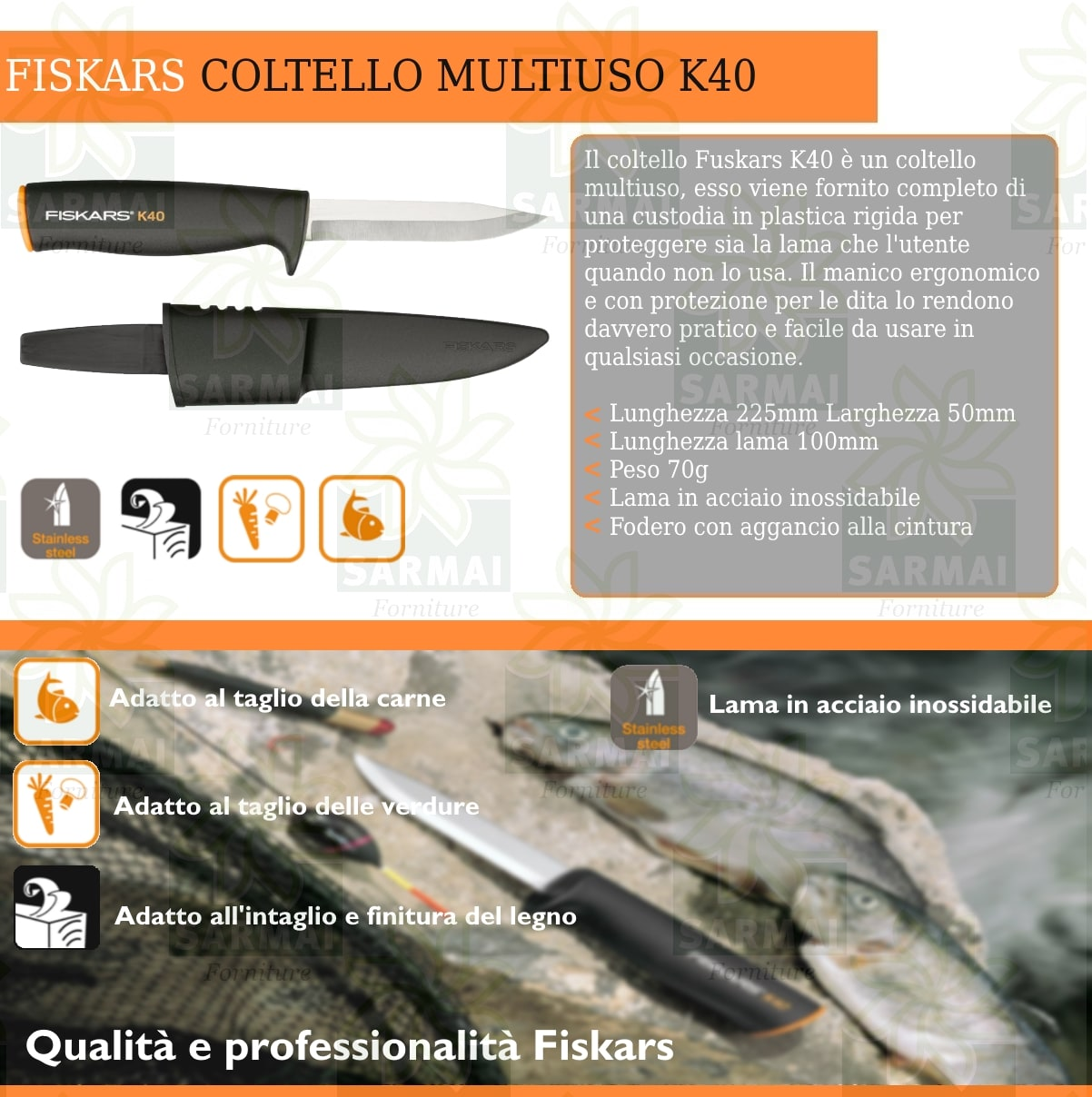 COLTELLO MULTIUSO