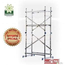 Trabattello in Alluminio Marchetti TEAM impalcatura ponteggio Altezza 3 mt