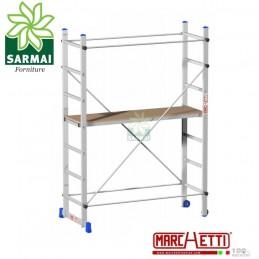 Trabattello in Alluminio Marchetti Superminio H. 2,10 mt