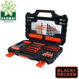 Set 104 pezzi Punte e inserti bits per forare ed avvitare BLACK+DECKER A7230-XJ
