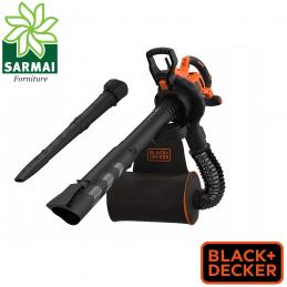 Soffiatore Aspiratore Trituratore elettrico 3000 W Black+Decker BEBLV300-QS