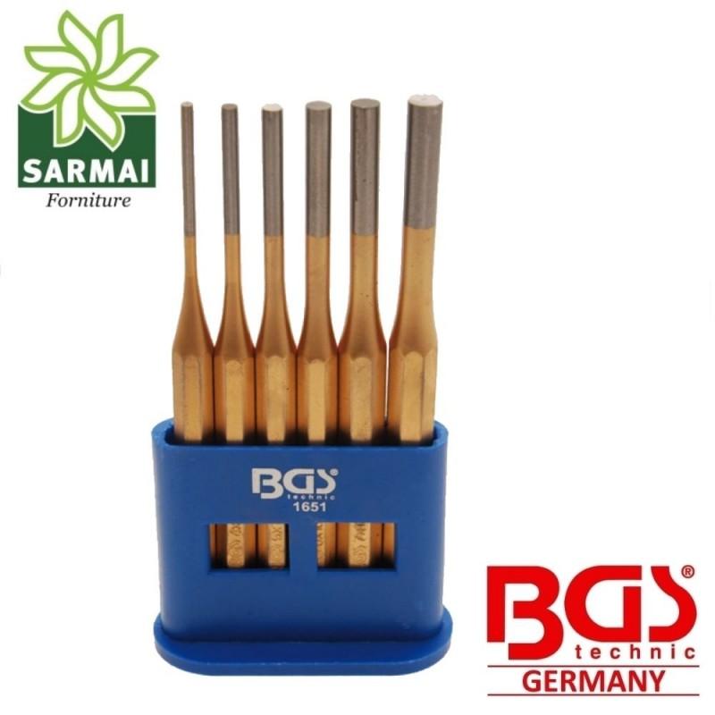 Set cacciaspine da 6 pezzi CHROME VADIUM Professionale con supporto BGS 1651
