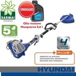 HYUNDAI 35700A decespugliatore a scoppio 4 tempi 32 cc eco-compatibile EURO 5