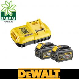 DeWALT DCB118T2 kit starter carica batterie batteria originali da 6 Ah 54V 18V XR FLEX-VOLT