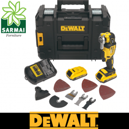 DeWALT DCS355D2 utensile multifunzione 18V 2.0 Ah XR Litio Brushless + accessori
