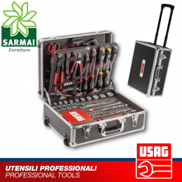 USAG 002 JTMA trolley set valigia porta utensili assortimento manutenzione 181 pz
