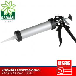 Pistola per sigillanti in alluminio professionale
