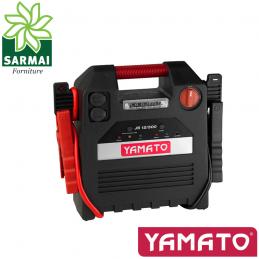 YAMATO JS 12/500 AVVIATORE PORTATILE 12V 18AH 500-1000A CON COMPRESSORE E TORCIA