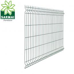 Pannello rigido recinzione rete plastificata filo Ø 5 mm 250 cm modulare