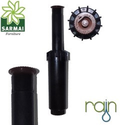 "Irrigatore Pop-up statico K-RAIN 1/2"" alzo 10 cm da 0° a 360° regolabile"