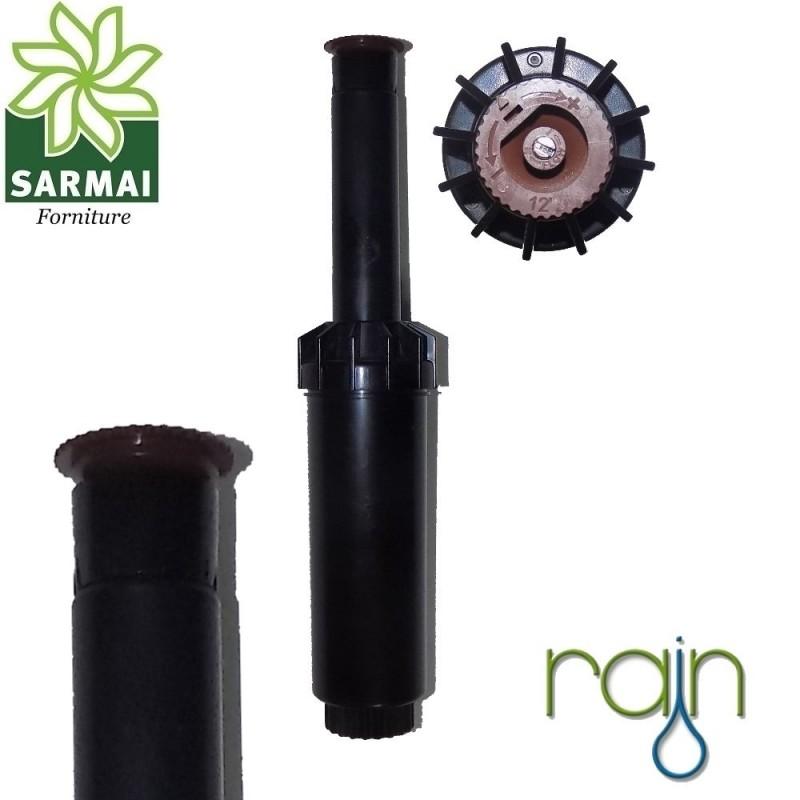 """Irrigatore Pop-up statico K-RAIN 1/2"""" alzo 10 cm da 0° a 360° regolabile"""