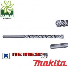 Punta trapano tassellatore MAKITA NEMESIS SDS-PLUS cemento armato granito per hitachi metabo hilti bosch dewalt