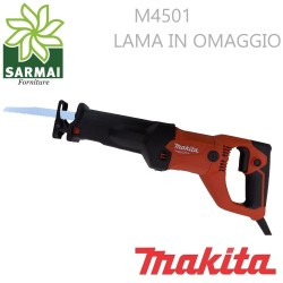 SEGHETTO DIRITTO MAKITA M4501 1010W ATTACCO RAPIDO + LAMA USO PROFESSIONALE