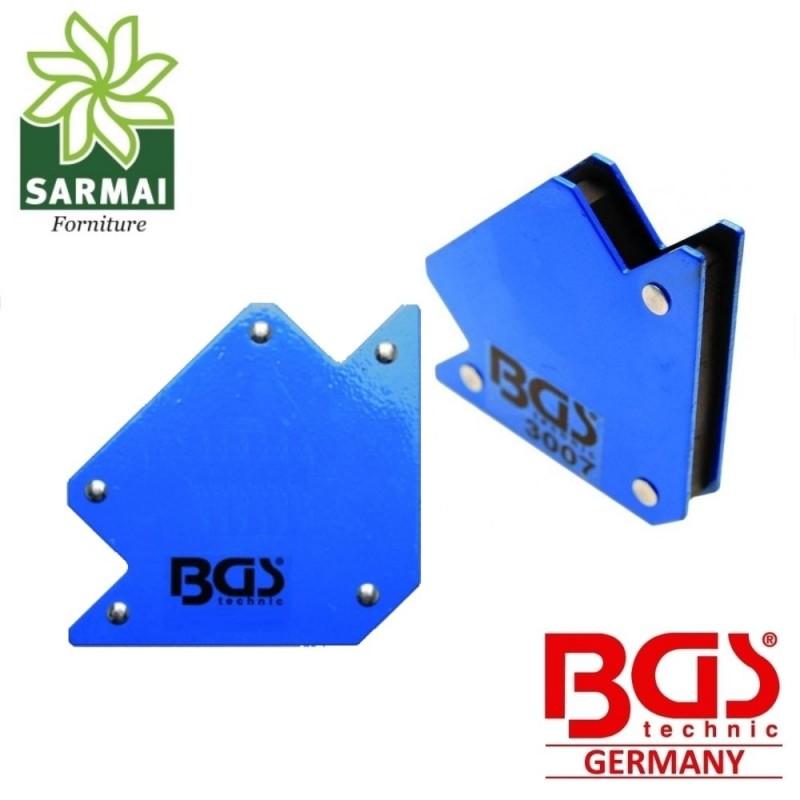 BGS 3007 Squadra Magnetica 11 Kg Supporto Magnetico 45-90-135° Saldatura Morsa