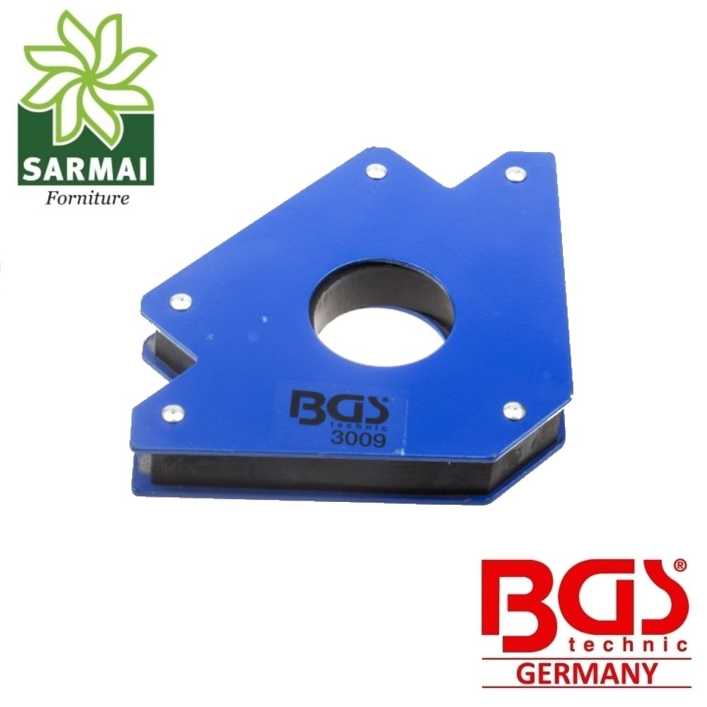 BGS 3009 Squadra Magnetica 32 Kg Supporto Magnetico Saldatura 45° 90° 135°