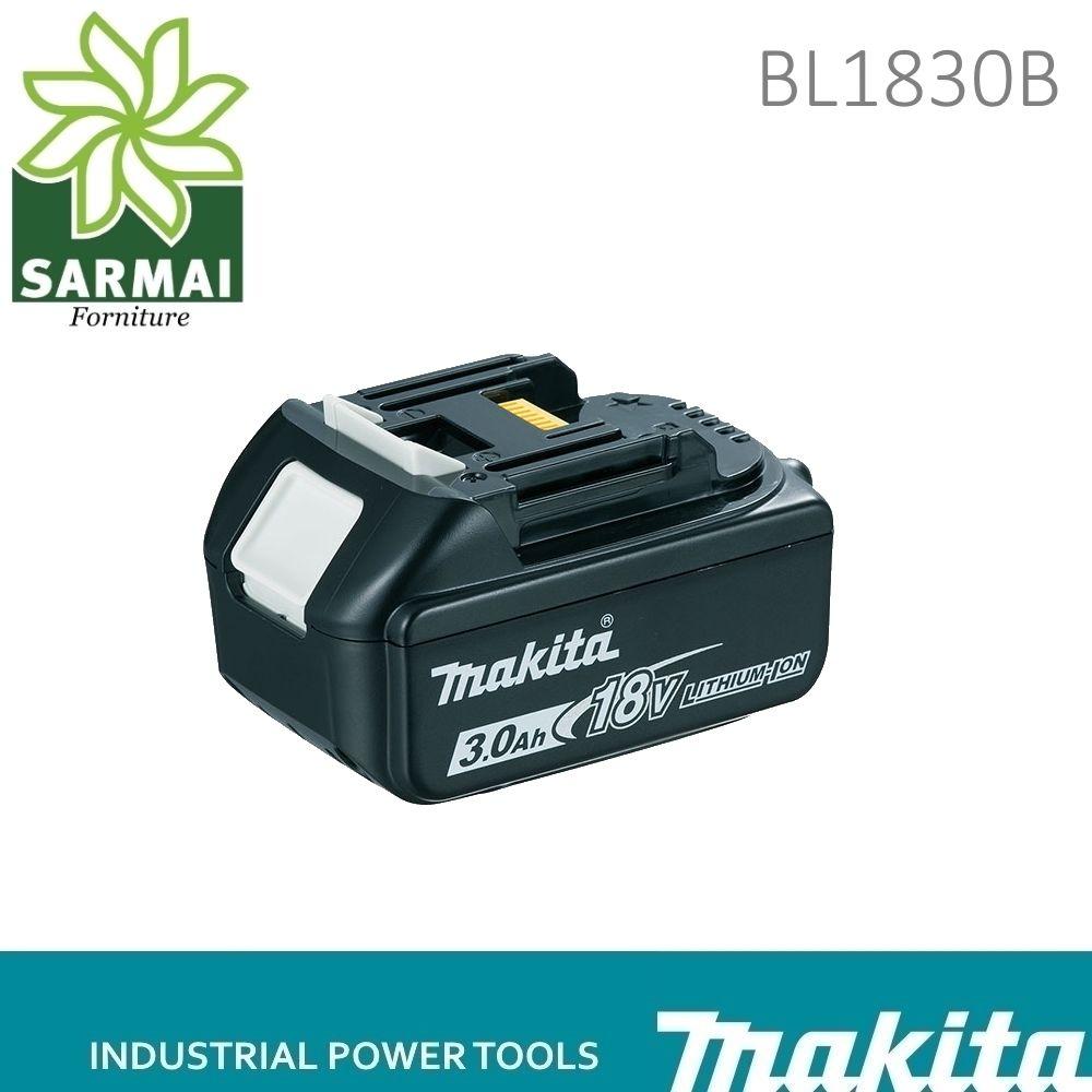 BATTERIA MAKITA BL1830B RICAMBIO ORIGINALE PER MAKITA LXT 18 Volt 3,0 Ah Litio DHP453 DHR263 DTD129Z DTD146 LXT