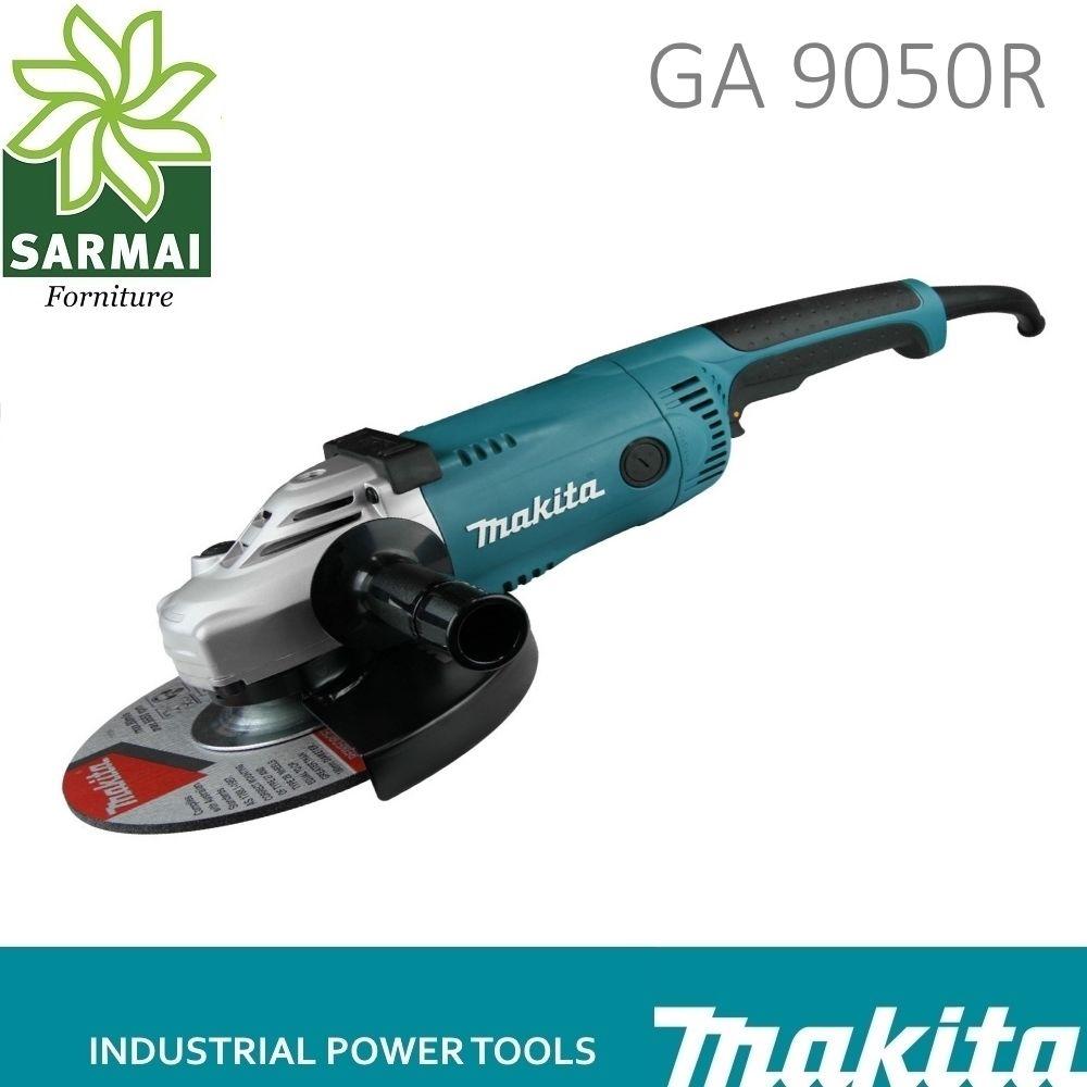 SMERIGLIATRICE FLEX MAKITA GA9050R ANTIRIAVVIO 2200W 230mm IMPUGNATURA LATERALE