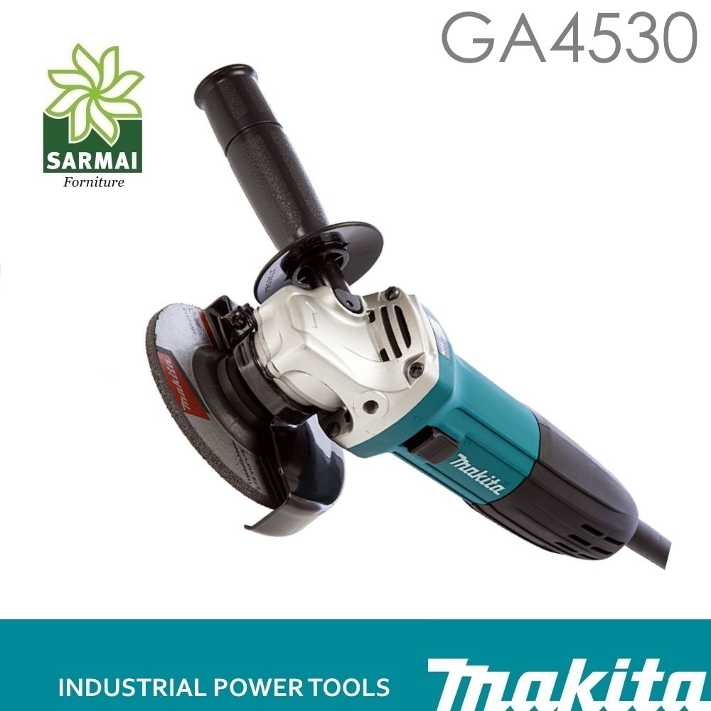 MAKITA GA4530R SMERIGLIATRICE ANGOLARE FLEX 720W 115mm CON ANTIRIAVVIO + DISCO
