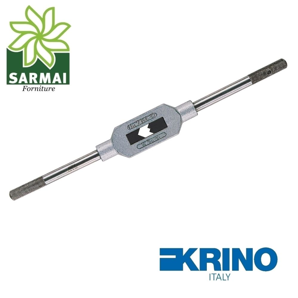 Giramaschi regolabile KRINO 15001 corpo lega leggera ganasce rinforzate