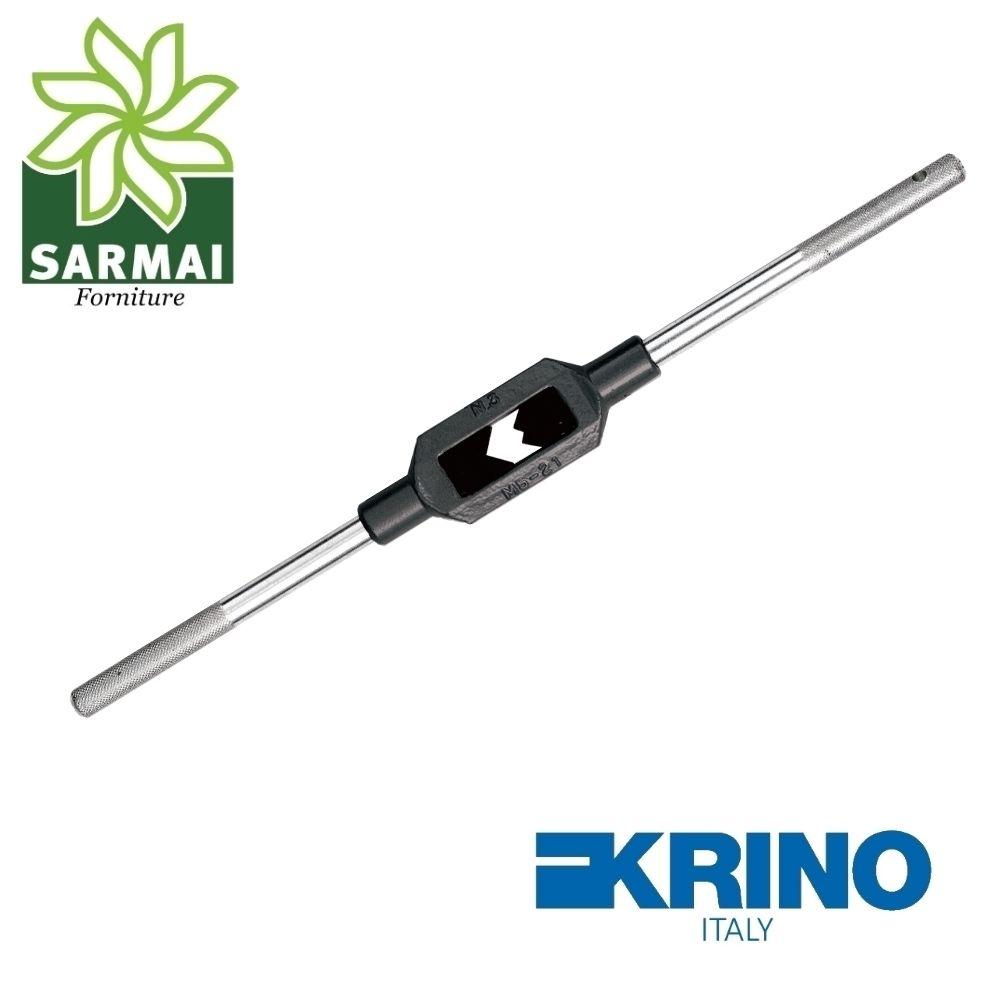 Giramaschi regolabile KRINO 15003 corpo in acciaio ganasce rinforzate