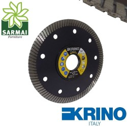 KRINO DISCO DIAMANTATO TAGLIO FLEX GRES PORCELLANATO GRANITO MARMO 115 mm