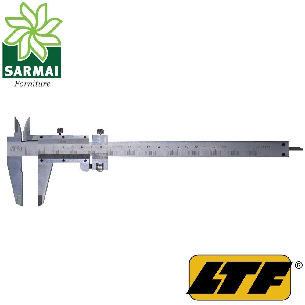 LTF calibro a corsoio cinquantesimale regolazione micrometrica 0,02 mm vermier