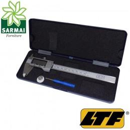 LTF calibro digitale 150 mm scala pollici e metrica con batteria di ricambio