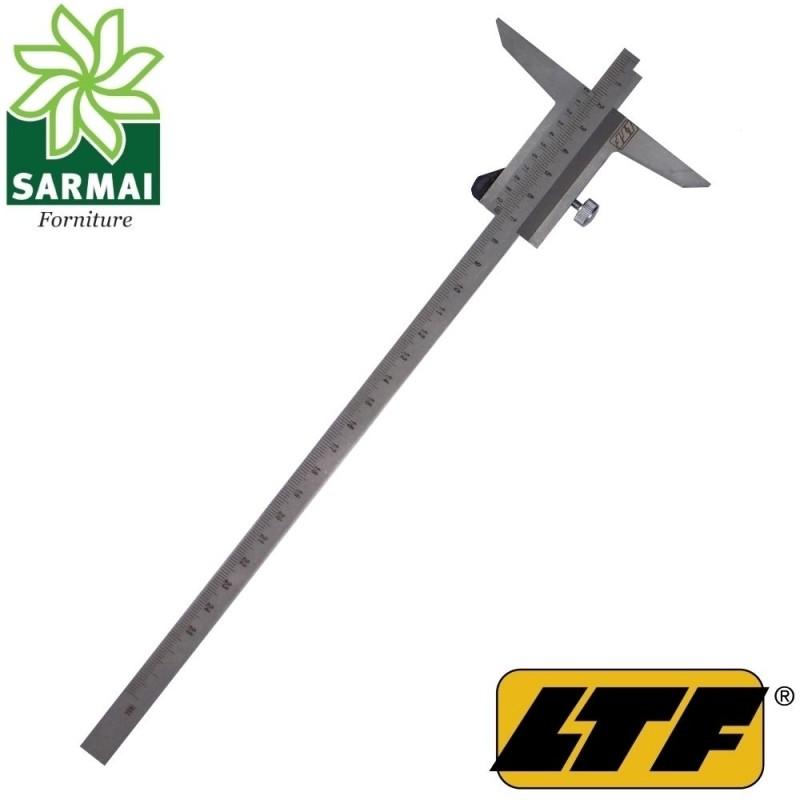 LTF calibro profondità cinquantesimale 250 mm acciaio inox nonio corsoio