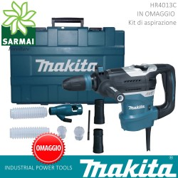 MARTELLO PERFORATORE DEMOLITORE MAKITA HR4013C 1100W SDS-MAX 6,7 Kg 8,0J