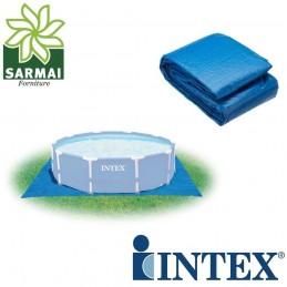 Telo quadrato base fondo sotto piscina fino a 457 cm Intex 28048 472 x 472 cm