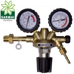 RIDUTTORE DI PRESSIONE AZOTO 230 bar - 10 bar PROFESSIONALE GAS COMPRESSI
