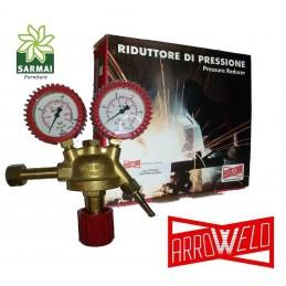 RIDUTTORE DI PRESSIONE IDROGENO ARROWELD 200 bar SALDATRICE MIG/MAG/TIG USO PRO
