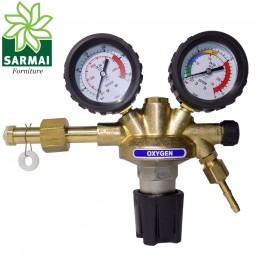 RIDUTTORE DI PRESSIONE OSSIGENO GAS TECNICO 230 bar SALDATURA CANNELLO PLASMA