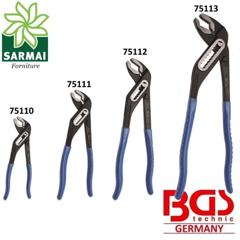 Pinze a pappagallo regolabili BGS da 175 240 300 400 mm varie misure