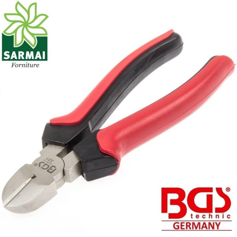 BGS 331 Pinza tronchesina tronchese taglio diagonale 165 mm