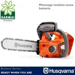 HUSQVARNA T536LiXP Motosega da potatura a batteria non inclusa 36V barra 30 cm