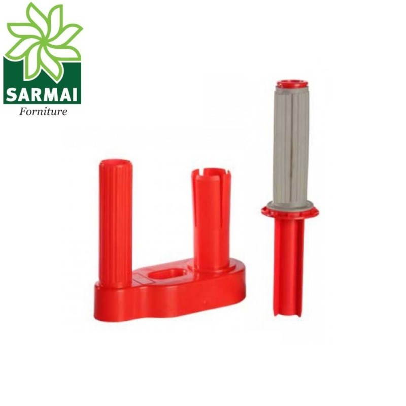 Dispenser impugnatura per bobine rotoli film estensibile da diametro 50 mm