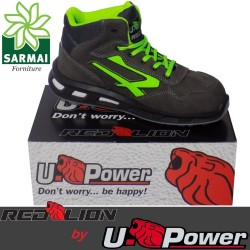 Scarpe Antinfortunistica UPOWER Red Lion HUMMER S3 SRC U-Power RedLion pelle