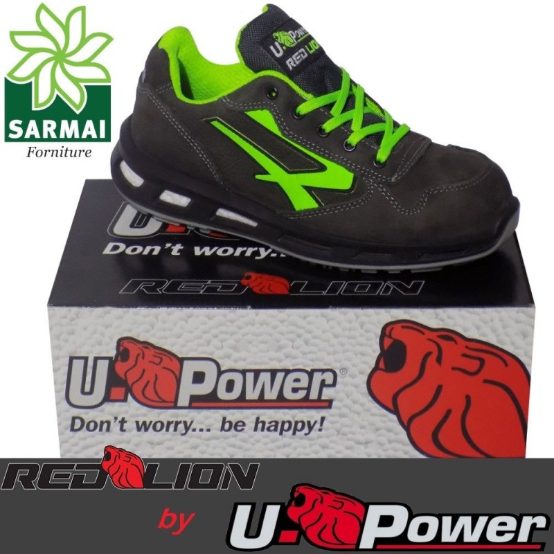 more photos 0aa29 20c7d Scarpe Basse Antinfortunistica UPOWER Red Lion YODA S3 SRC