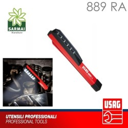 TORCIA TASCABILE USAG 889 RA LAMPADA A LED MAGNETE DA LAVORO