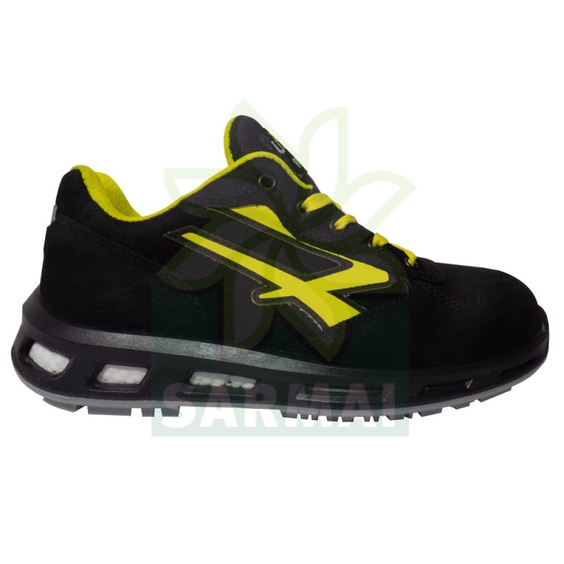 ... Scarpe Antinfortunistica UPOWER Red Lion BOLT S3 SRC U-Power RedLion  pelle nera ... 45b26fb7d6b
