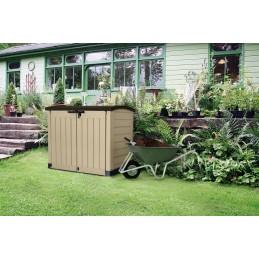 Keter Arc ripostiglio portattrezzi per interno esterno giardino cortile garage