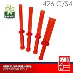 KIT 4 RASCHIETTI USAG 426 C/S4 MULTIUSO IN PLASTICA PER CARROZZIERE MECCANICO