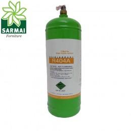 Bombola mini gas refrigerante freon R404A da LT 2,5 2Kg Bombola Ricaricabile