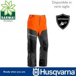 Pantalone lavoro forestale Husqvarna Classic Antitaglio anti taglio leggero