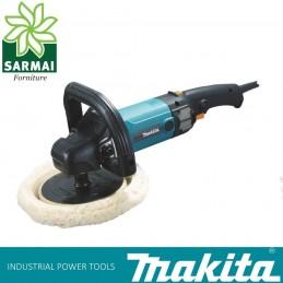 Makita 9237CB Levigatrice Lucidatrice 180 mm con disco lana velocità regolabile