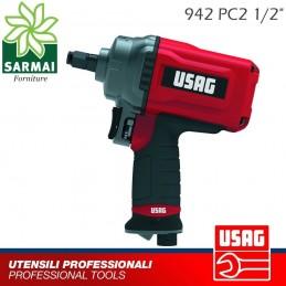 USAG 942 PC2 1/2 Avvitatore pneumatico aria impulsi corpo compatto in Titanio