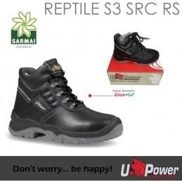 SCARPA U-POWER DA LAVORO ANTINFORTUNISTICA ALTA MOD. REPTILE RS S3 SRC