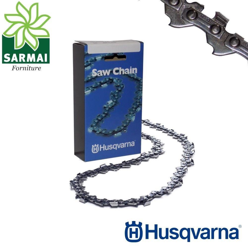 "Husqvarna H54 Catena motosega passo 3/8"" - 1,5 mm 0.058"" varie lunghezze maglie"